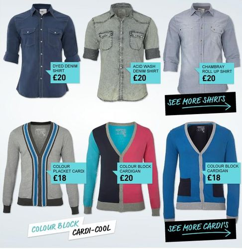 distinct and original collection of stylish clothing for men